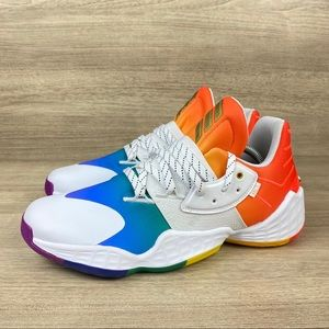 Adidas James Harden Vol 4 Pride Basketball Shoe